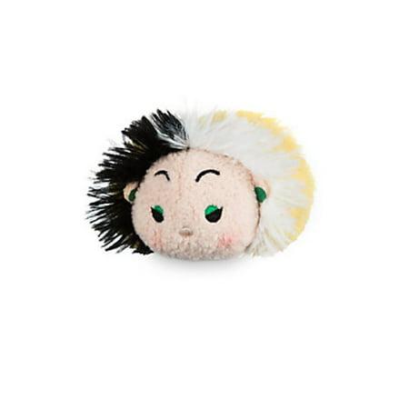 Disney Usa Authentic Villains Cruella De Vil Tsum Tsum Plush New with - Disney Cruella De Vil