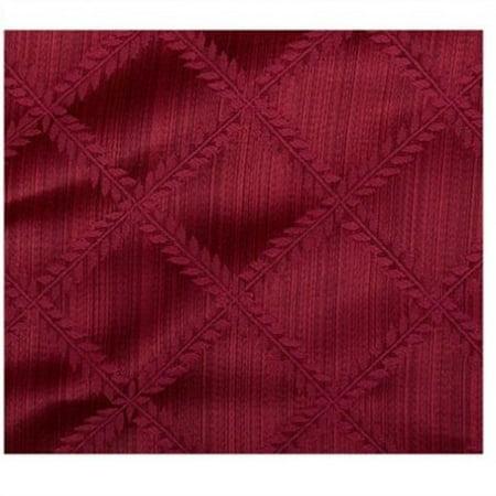 Lenox Laurel Leaf 90 Quot Round Tablecloth Cranberry