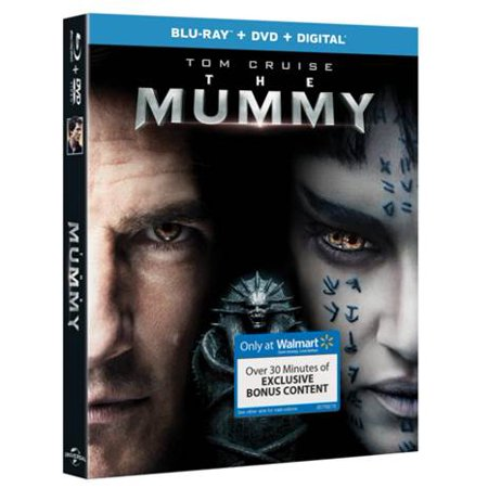 The Mummy (2017) (Walmart Exclusive) (Blu-ray + DVD + Digital HD) - Happy Halloween 2017 Hd