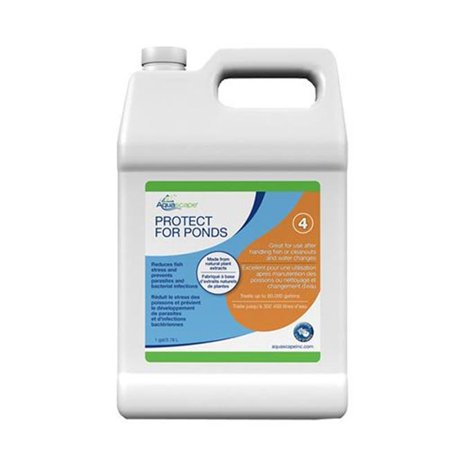 Aquascape PROTECT Water Treatment for Koi and Fish Ponds (Aquascape Water)