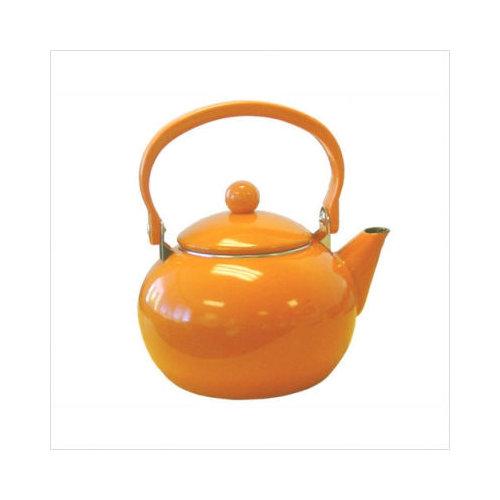 Bundle-14 Reston Lloyd Calypso Basics 64 oz Harvest Tea Kettle in Orange