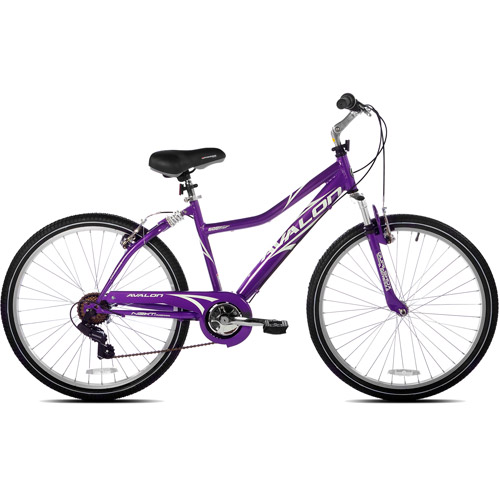 "26"" NEXT, Avalon, Comfort Bike, Full Suspension, Women's Bike, Purple by Kent International Inc"