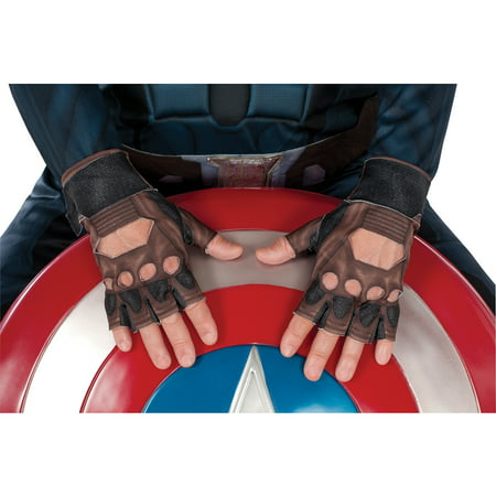 Adult Captain America Stealth Gloves Halloween Accessory](Captain America Stealth Suit)