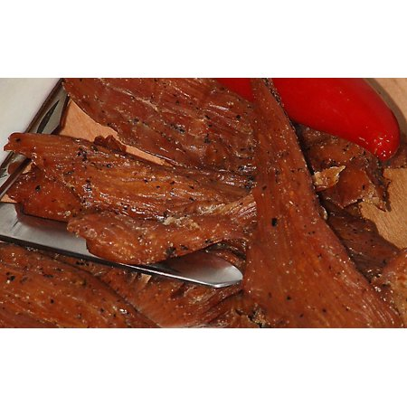BEST All Natural 1 OZ. Smoked Cajun Style Alligator Jerky â?? 100% Made From Solid Strips of Gator - No Preservatives - High Protein - Low Carbs (Alligator Smoked Cajun, Alligator Smoked Cajun 1 (Swtor Best Cartel Pack)
