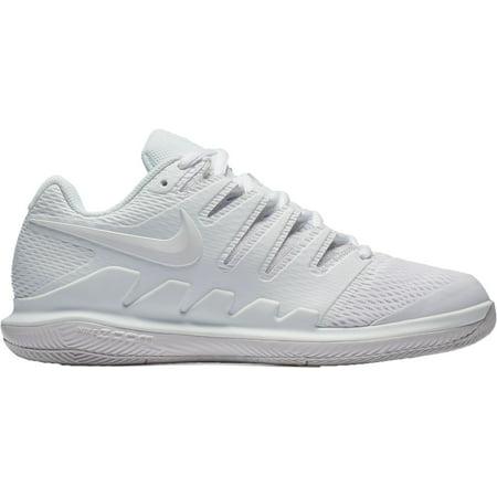 Nike Women's Air Zoom Vapor X Tennis Shoes, White/White, Medium (Nike Womens Air Zoom Elite 8 Running Shoe)