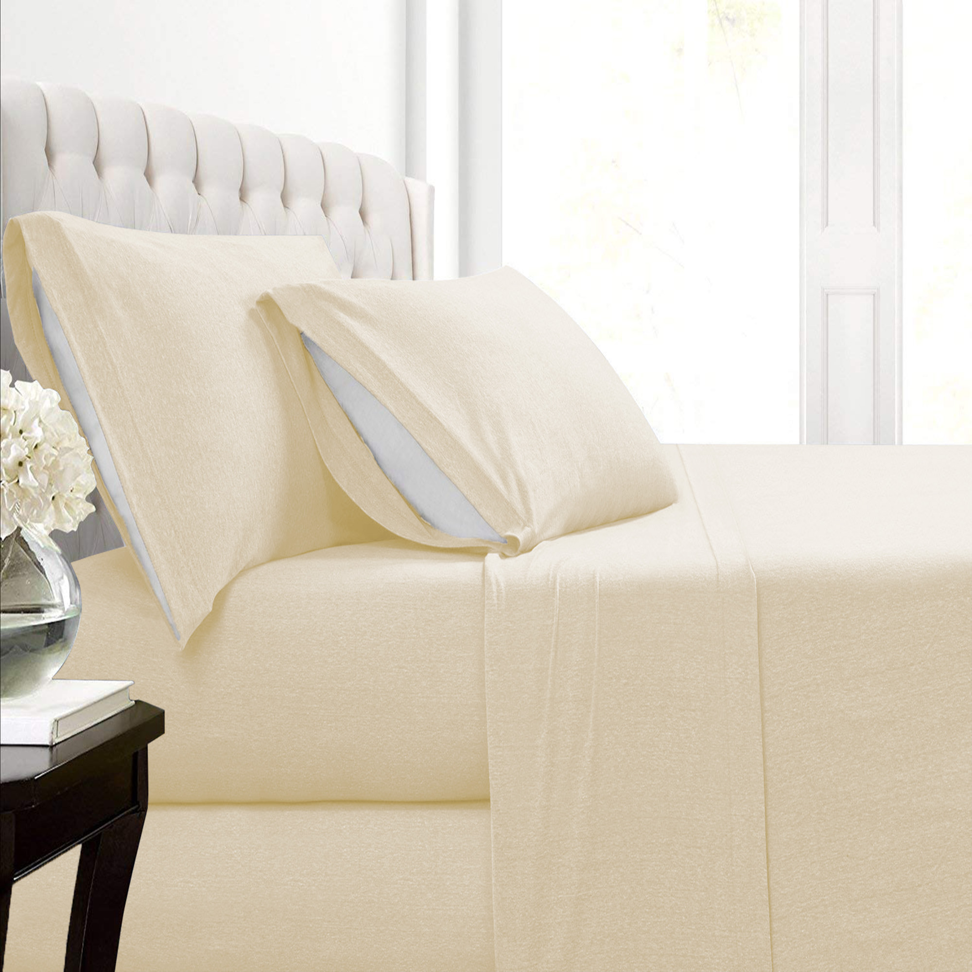 Malina Cotton Jersey Bed Sheet Set