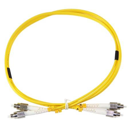 Duplex Single Mode Patch - 3m FC-FC Duplex 8.3/125um single mode patch cord, UPC polish