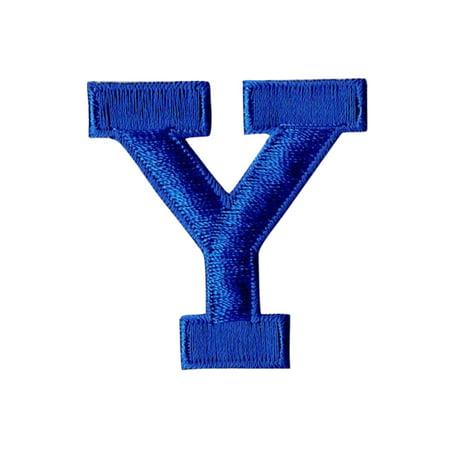 Alphabet Letter - Y - Color Royal Blue - 2
