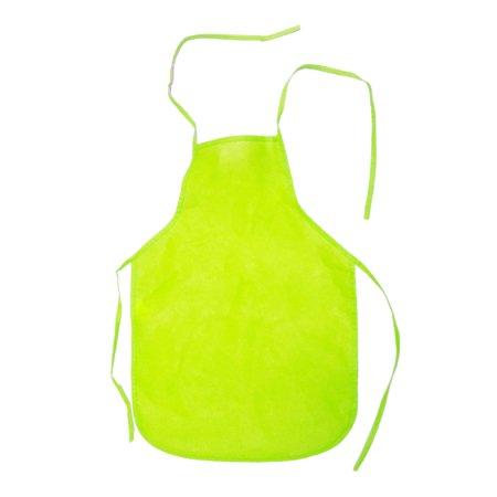 Child's Youth YELLOW Chef Food Crafting Activity Apron Party Costume Accessory Childrens Craft Apron