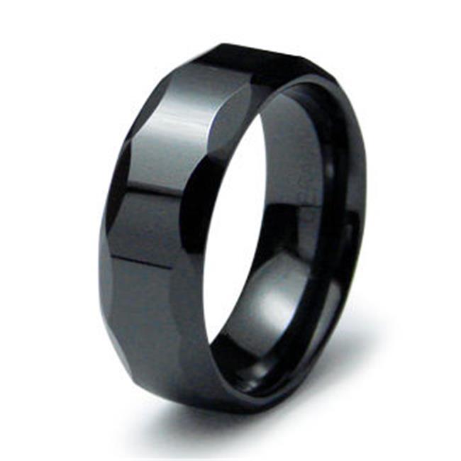 EWC R40016-090 Ceramic Ring High Polish - Size 9