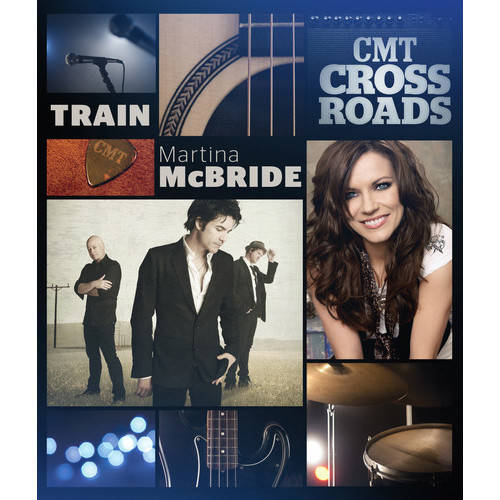 CMT Crossroads: Train / Martina McBride (Music DVD)