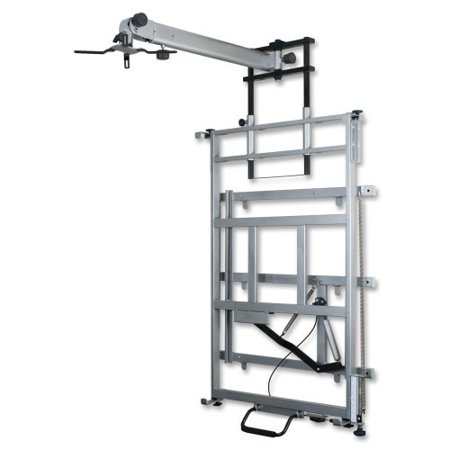 Balt Elevation Wall Mount For Whiteboard, Cart, Projector 125 Lb Load Capacity Platinum (BLT27589) by