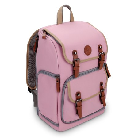 Accessory Power GOgroove Bags and Cases Camera Backpack, Pink