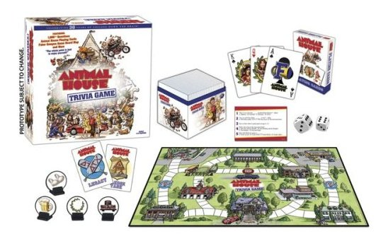 Animal House Movie College USAopoly Trivia Board Game by USAopoly