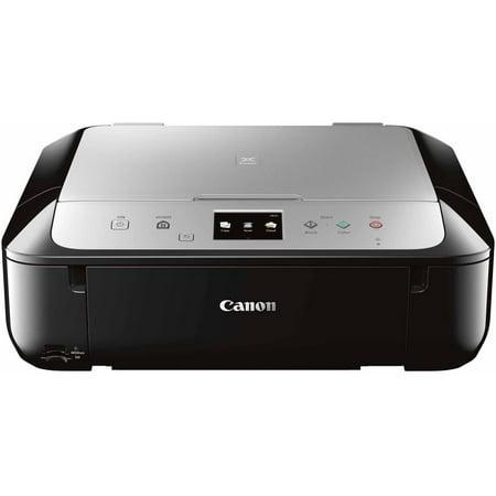 Canon PIXMA MG6821 Wireless Inkjet All-in-One Printer/Copier/Scanner, Black/Silver