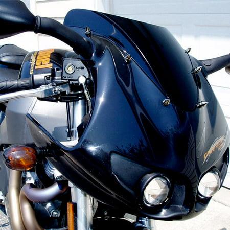 Silver Motorcycle Spike Bolt Screw Fairings 6pcs For Suzuki GSXR 600