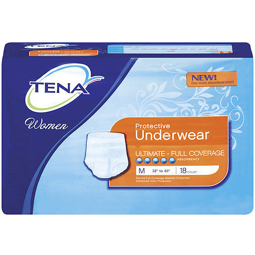 Tena Serenity Women's Ultimate Medium Protective Underwear, 18ct