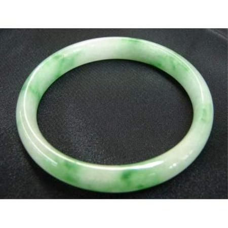Flat Inside Slip on Jade Bangles - image 1 de 1