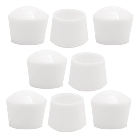 """Rubber Leg Caps Tip Cup Feet Cover 25mm 1"""" Inner Dia 8pcs for Furniture Chair - image 7 of 7"""
