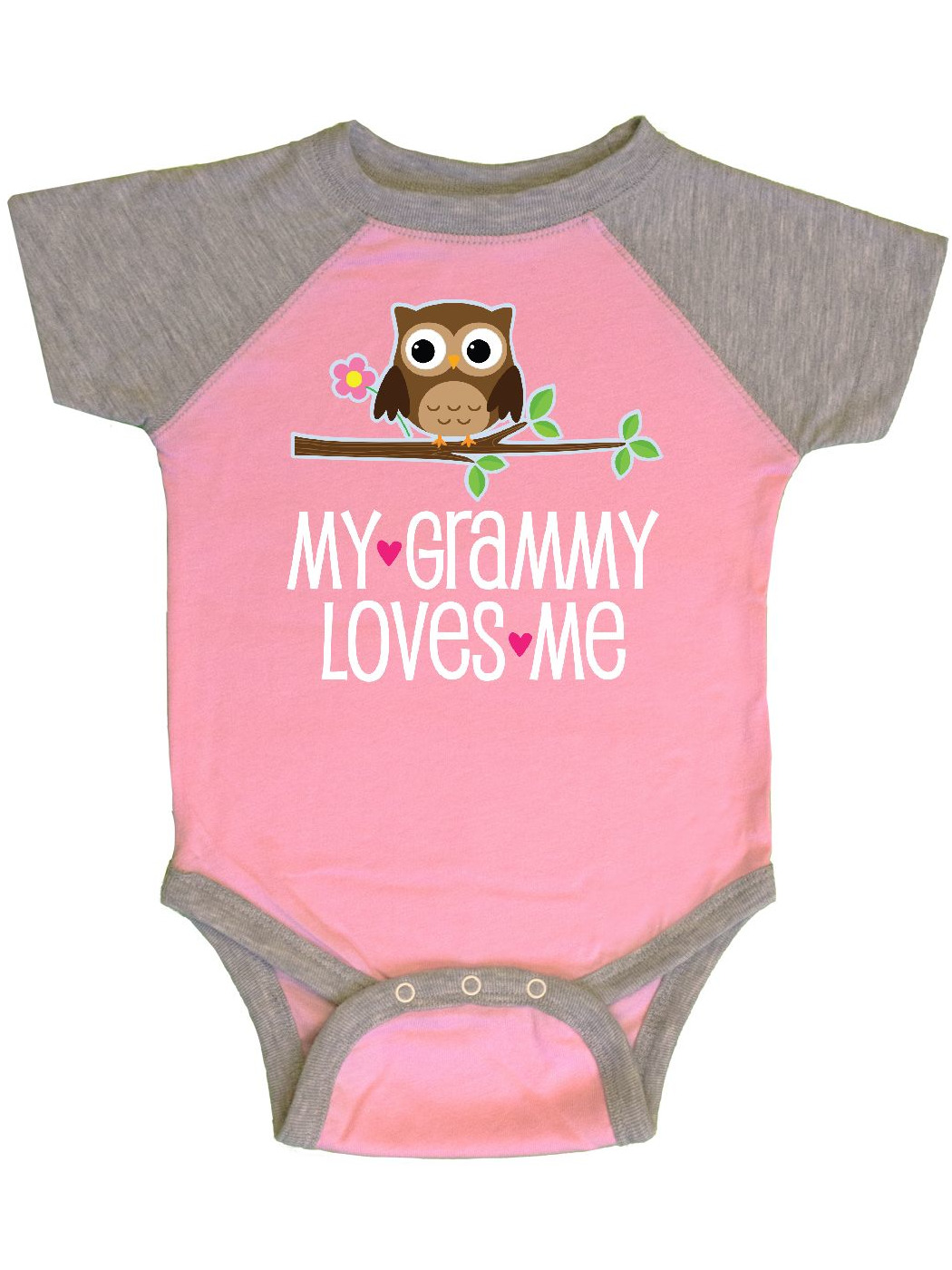 inktastic I Love My Grammy Grandchild Infant Creeper