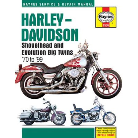 Harley-Davidson Shovelhead and Evolution Big Twins '70 to '99 ()