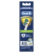 Oral-B FlossAction Electric Toothbrush Heads, 4 count