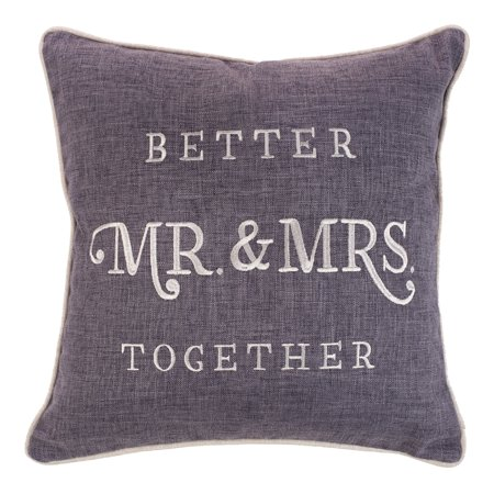 Mr & Mrs Pillows (Better Together - Mr. & Mrs. Square)