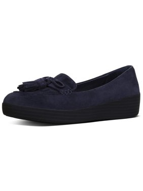 8779e50489502 Product Image Fitflop Womens Tassel Bow Sneakerlafer Closed Toe Loafers