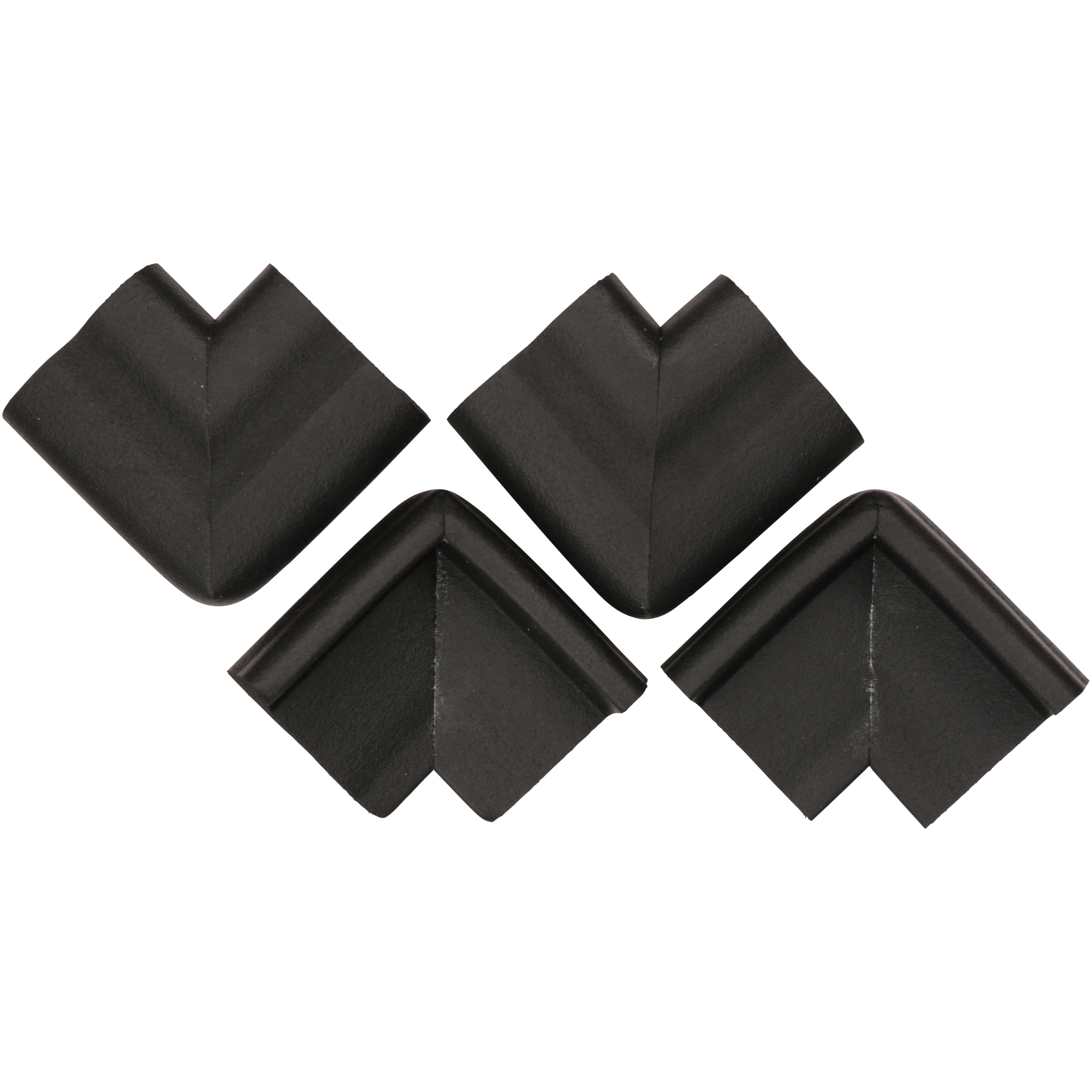 KidKusion® Black Jumbo Corner Cushions 4 ct Pack