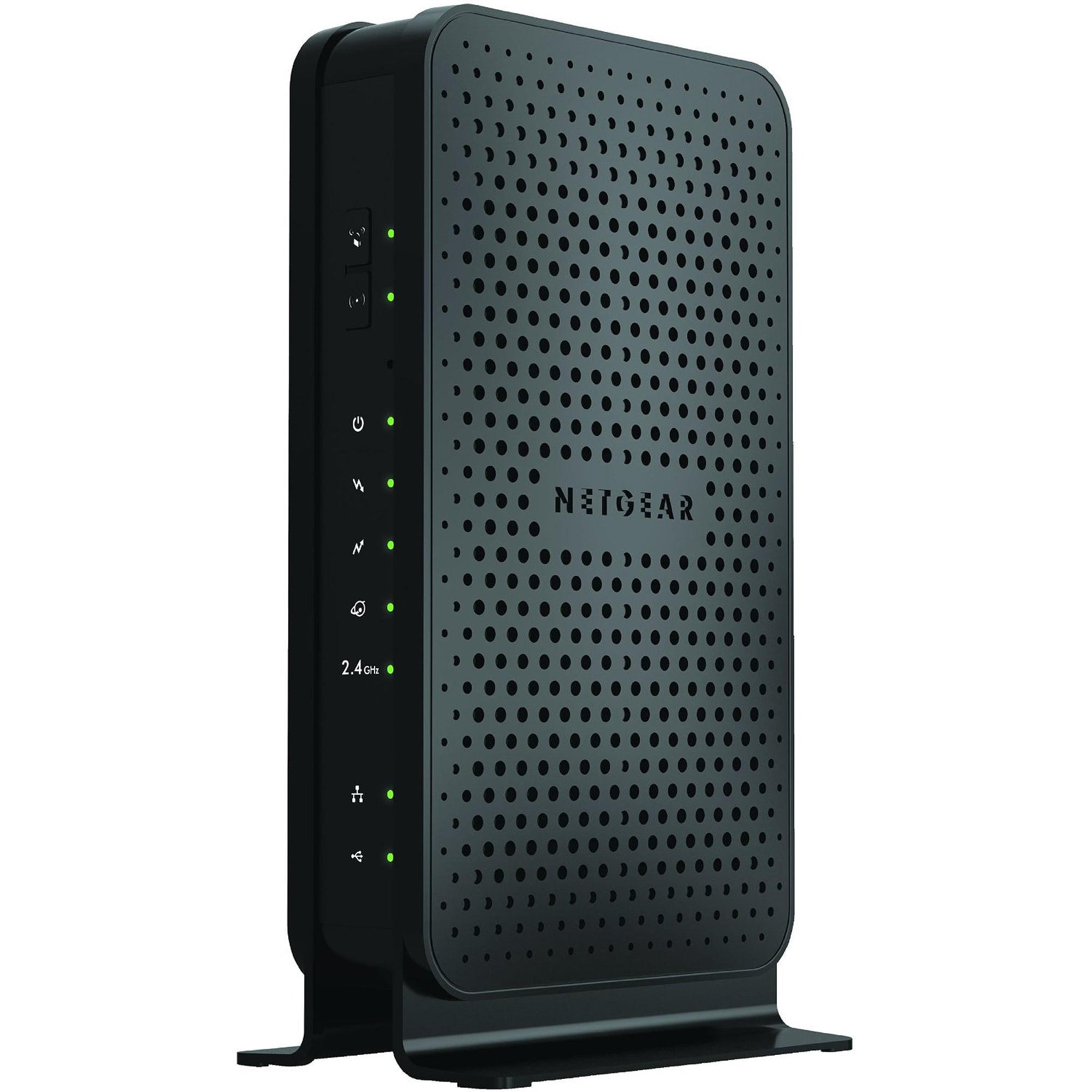 NETGEAR N300 WiFi DOCSIS 3.0 Cable Modem Router (C3000)