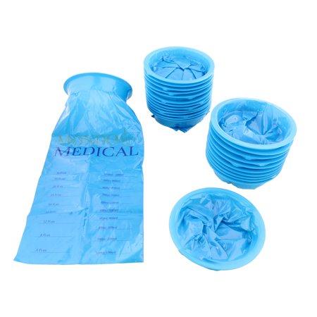 Monmed Emesis Bags Car Sickness Nausea Vomit Disposable