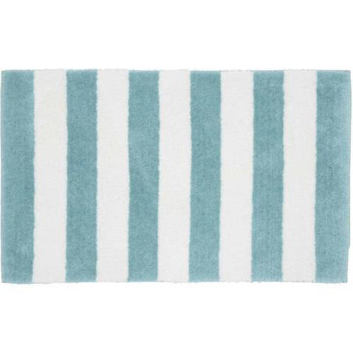 Beach Stripe Bath Rug by GARLAND