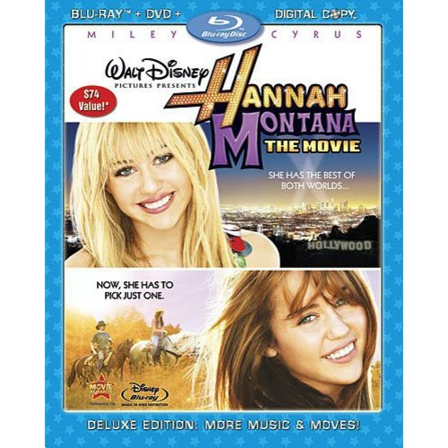 Hannah Montana: The Movie (Deluxe Edition) (Blu-ray + DVD) (Widescreen)