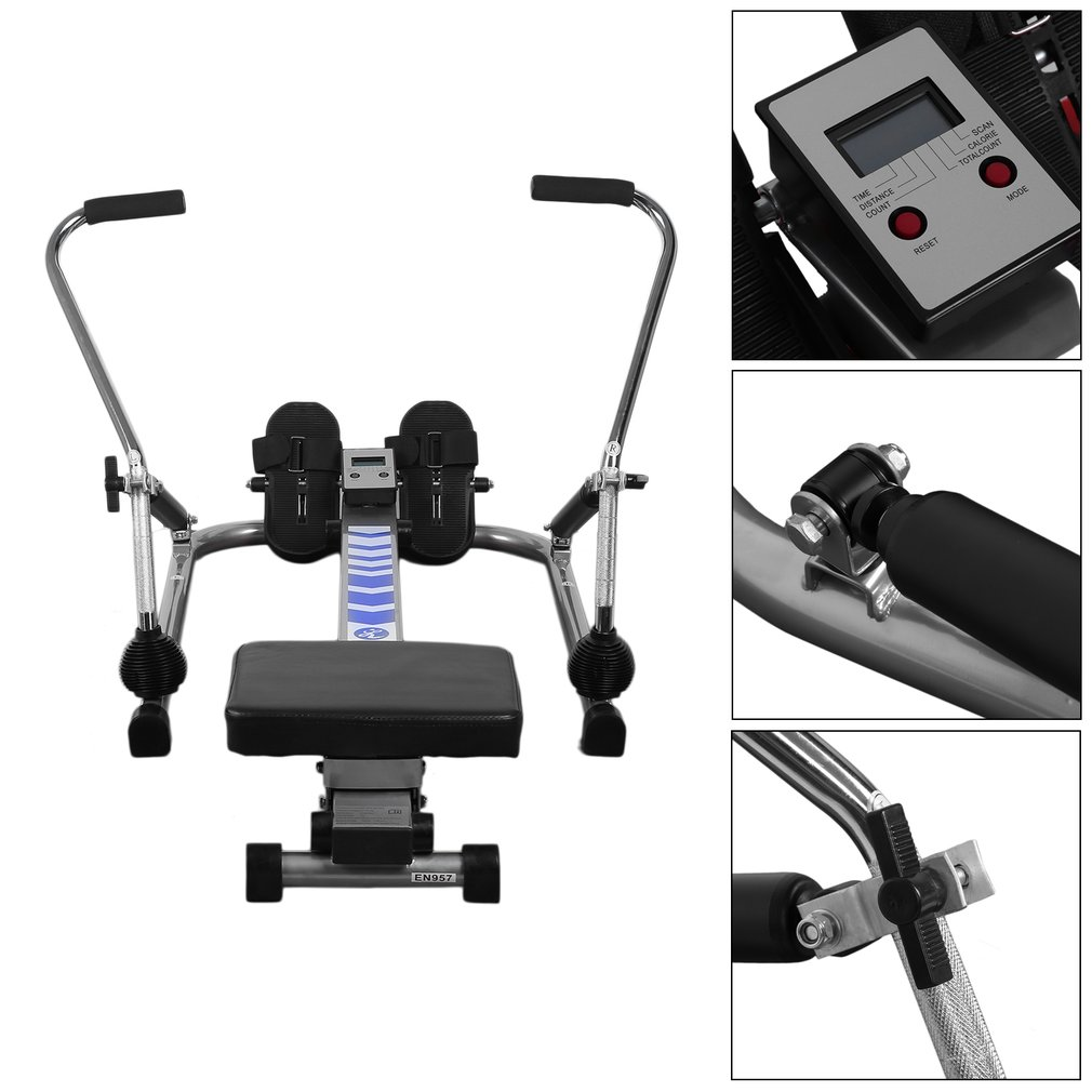 Body Glider Home Training Exercise Abdominal Muscle Equipment Rowing Machine