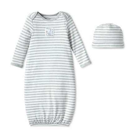 Lamaze Cotton Gown, 2pk (Baby Boys or Baby Girls, Unisex)