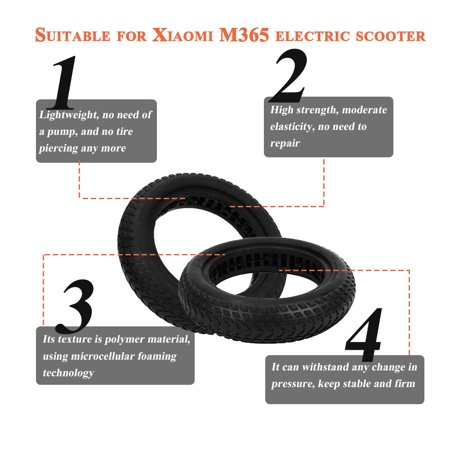 Ejoyous scooter tire, scooter accessories,For XIAOMI MIJIA M365 electric  scooter tire solid tire black | Walmart Canada