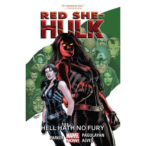 Red She-Hulk 1: Hell Hath No Fury (Marvel Now)