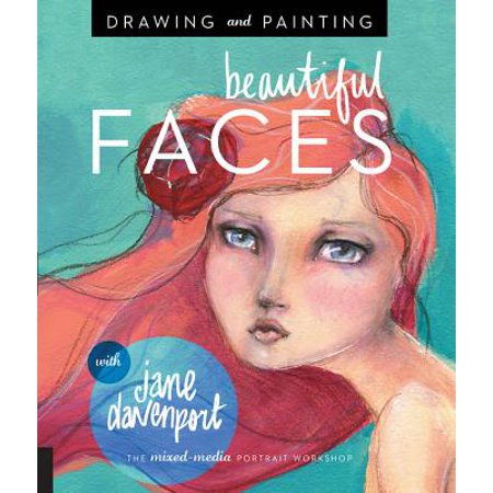 Face Painting Vampire Ideas (Drawing and Painting Beautiful Faces : A Mixed-Media Portrait)