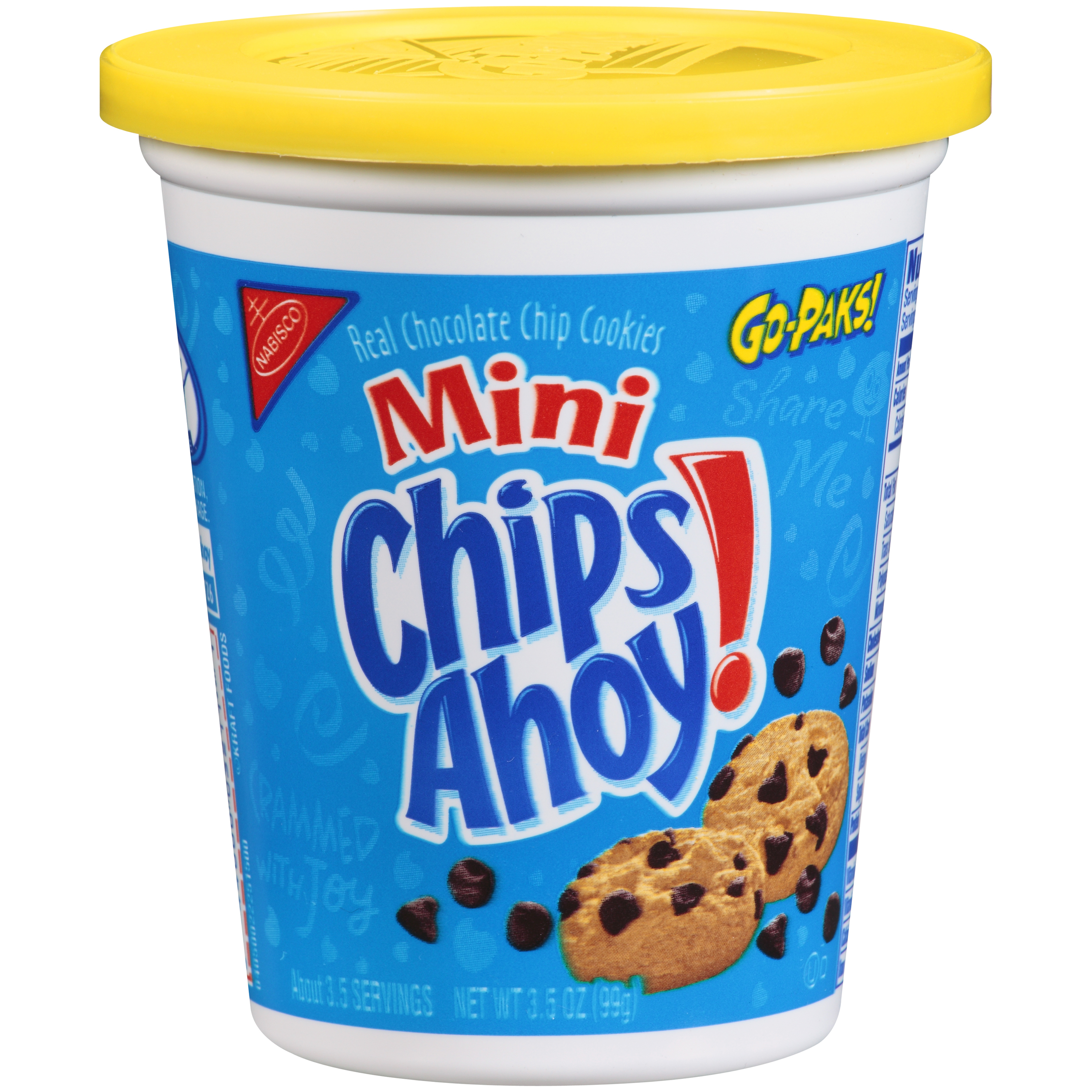 CHIPS AHOY! Mini Chocolate Chip Cookies - Go-Pak, 3.5 oz
