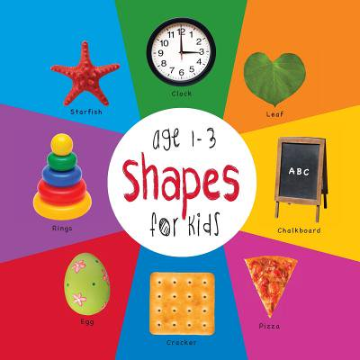 Shapes for Kids Age 1-3 (Engage Early Readers : Children's Learning Books) with Free