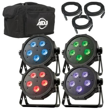 NEW! AMERICAN DJ Mega Flat TRI Pak Plus RGB + UV LED Mega Tripar Profile (American Dj Mega Tripar Profile Plus Manual)
