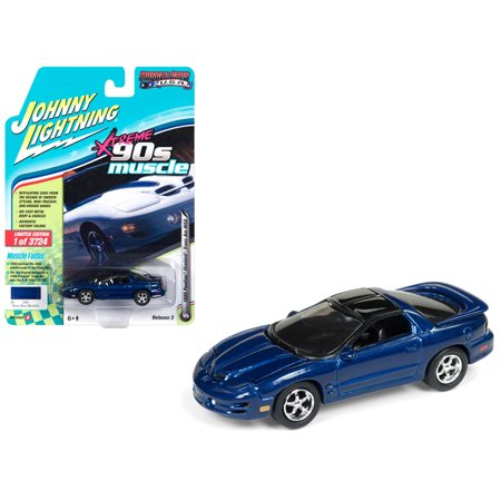 1999 Pontiac Firebird Trans Am WS6 Dark Blue Metallic