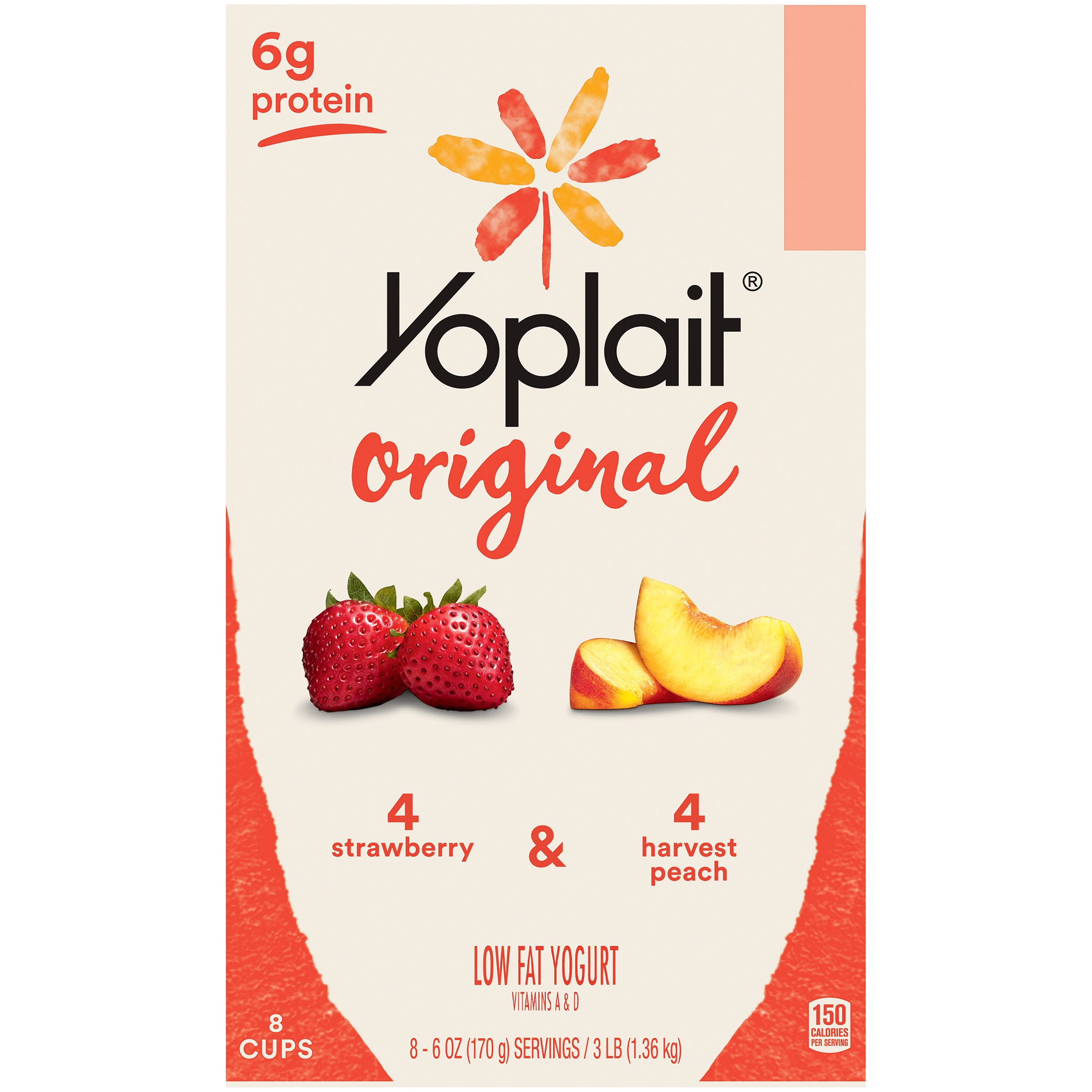 Yoplait® Original Strawberry/Harvest Peach
