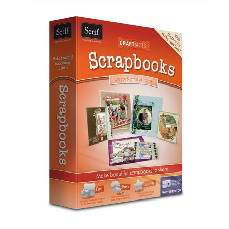 Serif Craft Artist Scrapbooks