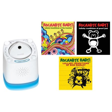 Munchkin Nursery Sound Projector With Rockabye Baby Lulla
