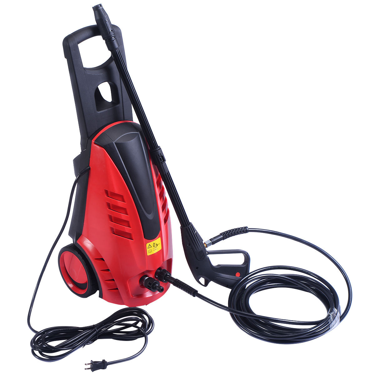 GHP 2030PSI 2000W 1.76GPM Red ABS Body Aluminum Alloy Pump High Pressure Washer