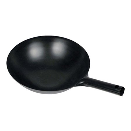 WOK-34 Chinese Wok with Integral Handle, 14-Inch, Black, Winco products are made to meet the high demands of a kitchen By