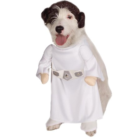 Star Wars Princess Leia Dog Costume - Medium (Star Wars Dog Accessories)