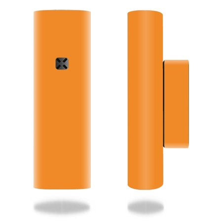 Skin For Ploom Pax 2 or Pax  3 Vaporizer – Glossy Orange   MightySkins Protective, Durable, and Unique Vinyl Decal wrap cover   Easy To Apply, Remove, and Change Styles   Made in the