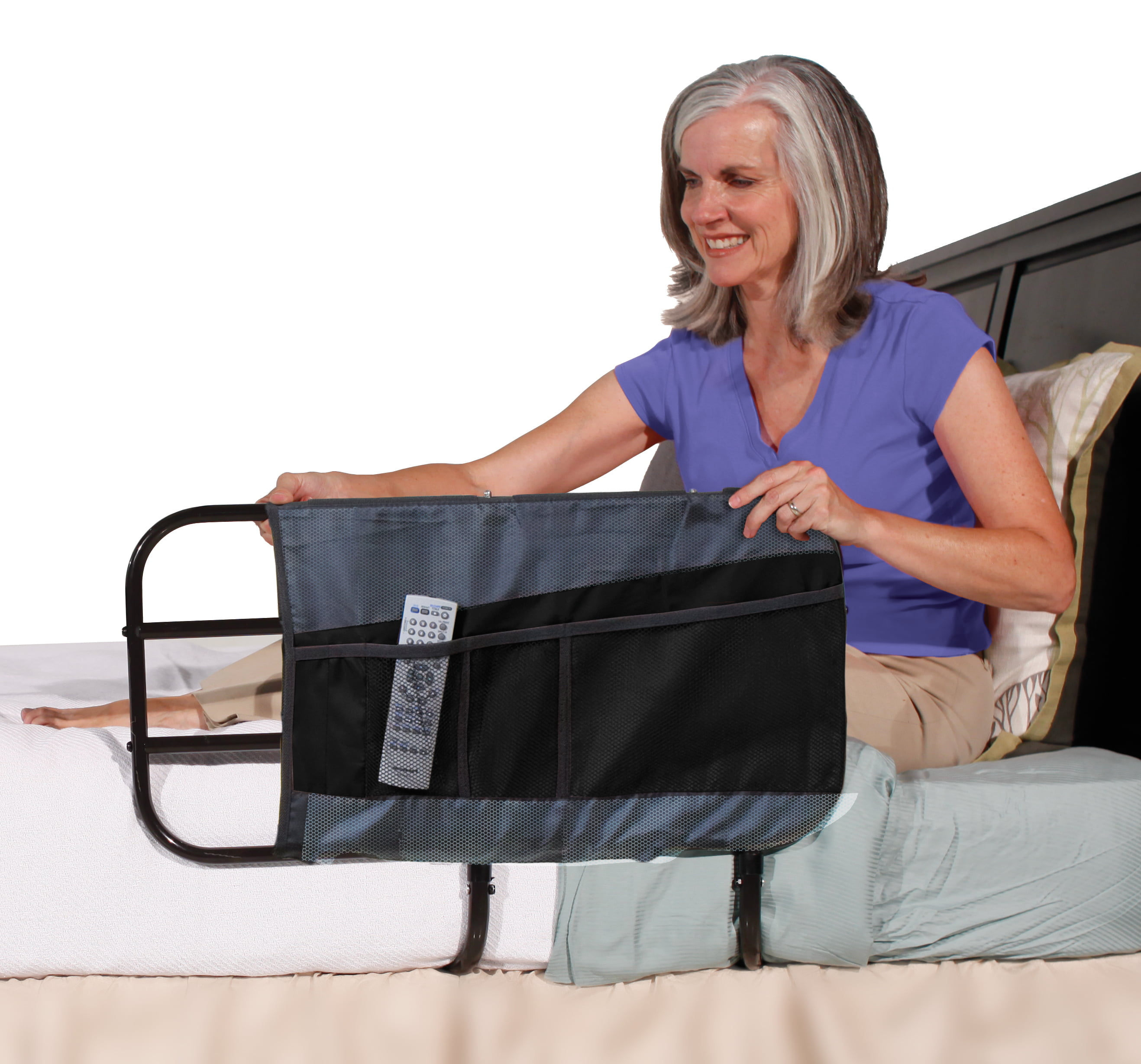 beauty adjust rails ez today shipping health free product bed stander rail elderly overstock for